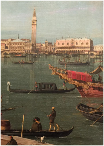 Early Italian travel postcard