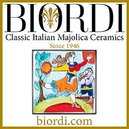 Biordi Classic Italian Majolica Ceramics