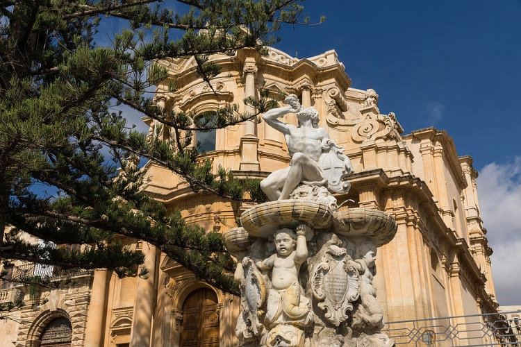 Sicilian Baroque Architecture - Gallery Slide #13